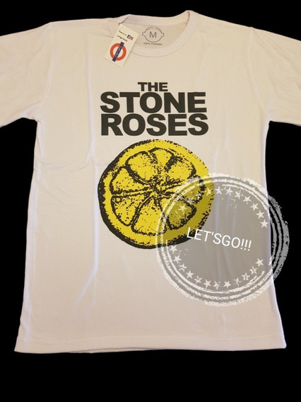 The Stone Roses Remera Manga Corta