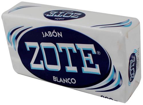 Jabón Zote En Barra Blanco 200 Gr