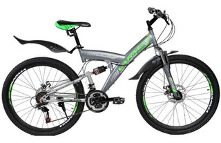 Bicicleta De Montaña Con Suspensión 21 Vel Varma Rivez