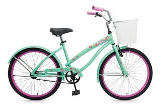 Bicicleta Gribom Rodado 24 Modelo 3050d Brisa