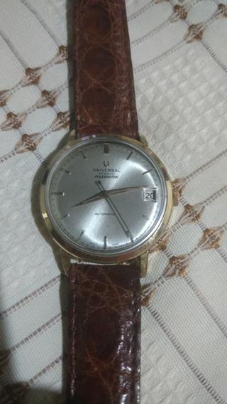 Relógio Universal Antigo Polirouter Automático 34mm