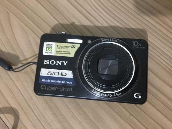 Câmera Digital Sony Cyber Shot Dsc-wx100 18.2mp