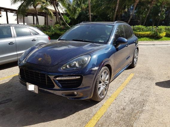 Porsche Cayenne Gts V8 2014 Azul