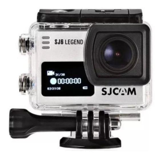 Sjcam Sj6 Legend 4k Camera 2 Telas Wifi 16mp 166º Original