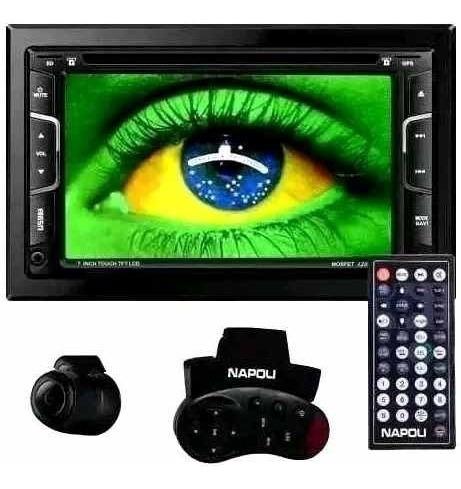 Dvd Central Multimidia Napoli 7335i,tv Digital,gps,cd/dvd,sd