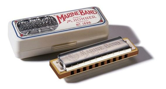 Armonica Hohner Marine Band 1896 Estuche Garantia Envios