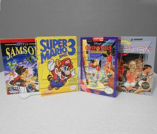 Cajas Juegos Custom Nintendo, Nes, Snes, N64, Atari, Gb