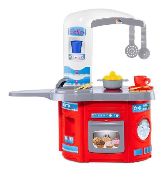Cocinita Para Niños Juguete Prinsel First Chef Accesorios