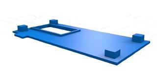 Caja Gabinete Case De Wemos D1 Mini Con Wemos D1 Oled