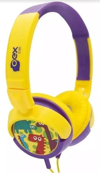 Headphone Dino (infantil)