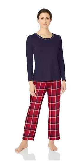 Original Nautica Conjunto De Pijama Con Pantalón Estampado