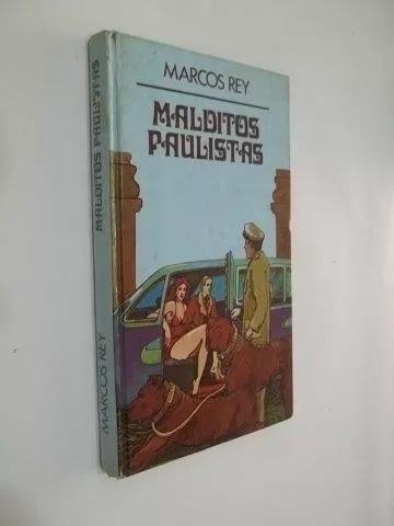 Livro - Malditos Paulistas - Marcos Rey Escolha Edição Foto