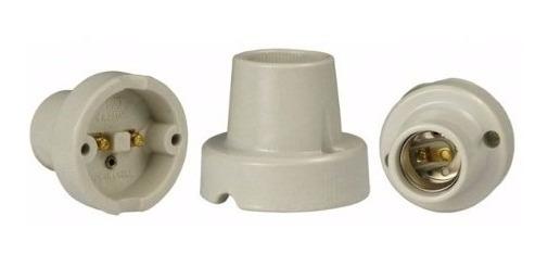 Suporte Para Lampada Teto Soquete Porcelana E27 Receptáculo