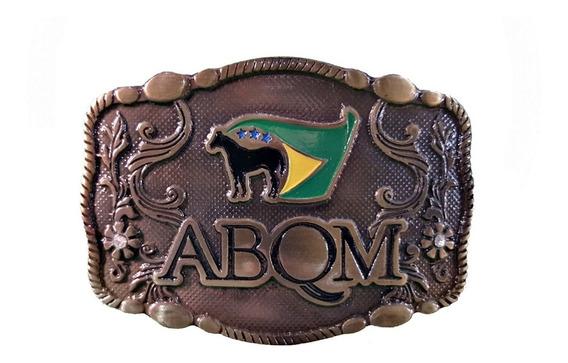 Fivela Country Cowboy Abqm Envelhecida Top Super Oferta