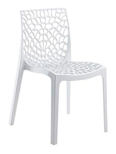 Silla Gruvyer Polipropileno Diseño Moderno Marca Durex