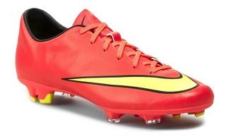 Zapato Futbol Tachon Nike Mercurial Victory V Fg Jr-zapatera