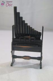 Apontador Miniatura De Orgão P/ Coleção Cchic *
