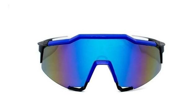 Lente Deportivo De Pasta Color Azul, Glasses G3, Bp0128