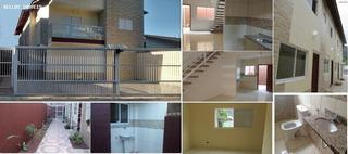 Sobrado Para Venda Em Mongaguá, Pedreira, 2 Dormitórios, 1 Banheiro, 1 Vaga - 342