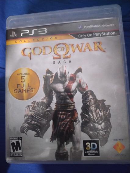 God Of War Saga Ps3 Mídia Física + Dlcs Frete Grátis
