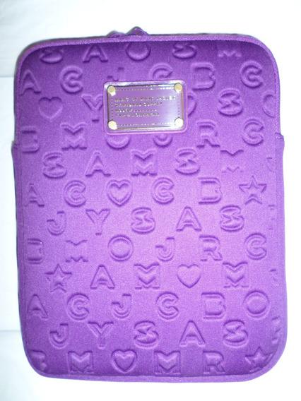 Marc Jacobs Bolsa Tablet Color Violeta Neopreno Amyglo