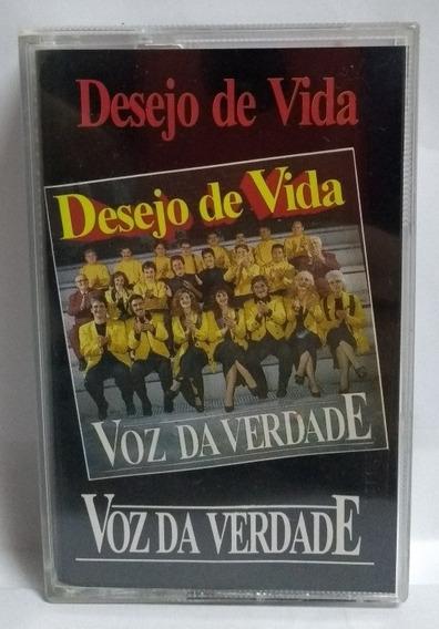 K7 Voz Da Verdade Desejo De Vida - Playback