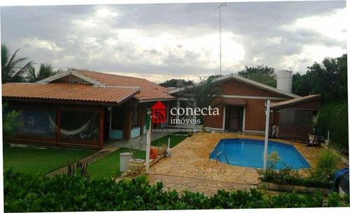 Imagem 1 de 24 de Chácara Com 3 Dormitórios À Venda, 1832 M² Por R$ 1.060.000,00 - Parque Da Represa - Paulínia/sp - Ch0011