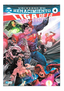 Liga De La Justicia #4 - 2017 - Ecc Arg - Bryan Hitch
