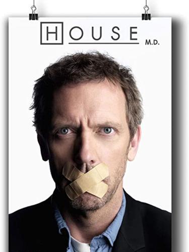 Imagen 1 de 1 de House Doctor House Serie Completa Dvd Collecion Toda