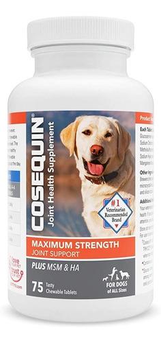 Cosequin Ds Plus 75 Cápsulas Suplemento Canino Nutramax
