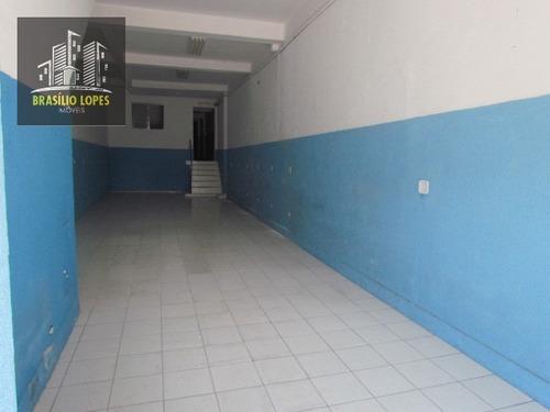 Imagem 1 de 13 de Salão No Ipiranga Com Aproximadamente 120 M²   M105