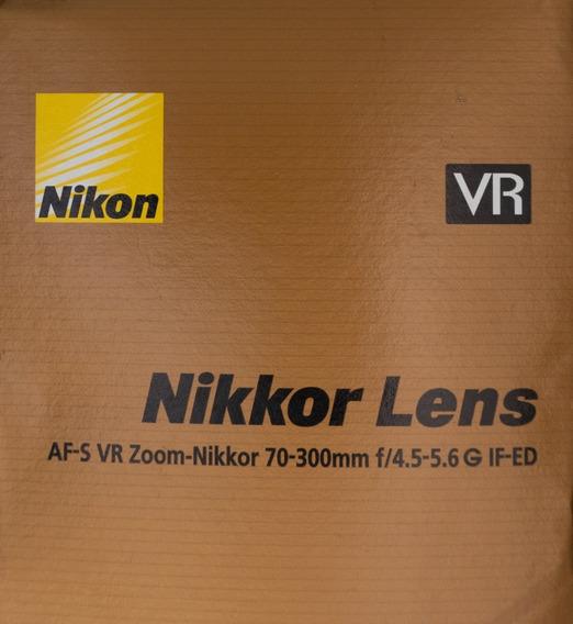 Lente Nikon Nikkor 70-300mm F/4.5-5.6 G If-ed Vr
