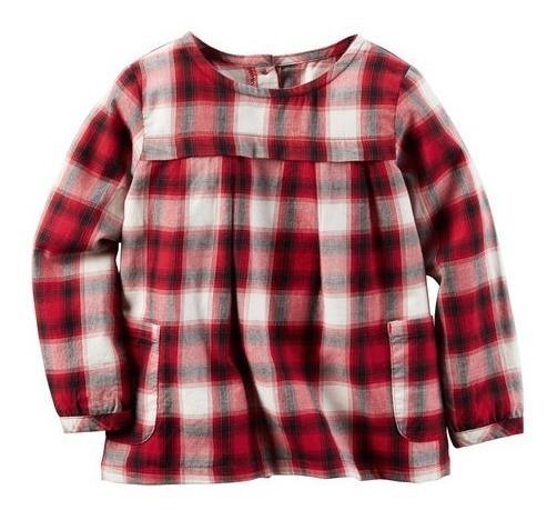 Camisa Camisola Carters Nena Estampado Mercado Importado