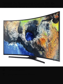 Smart Tv Samsung 55 Mu6300 Curve Roto