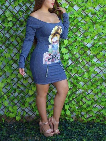 Hermoso Vestido Queda A Ch Y M