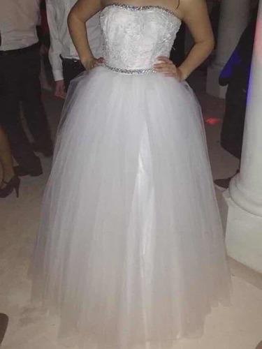 Vestido 15 Años Blanco