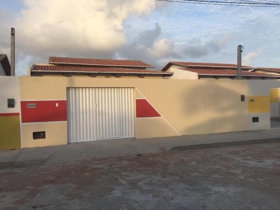 Casa Com 2 Dormitórios À Venda, 72 M² Por R$ 100.000,00 - Extremoz - Extremoz/rn - Ca7145