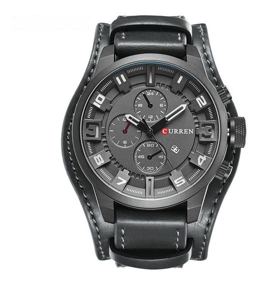 Reloj Curren 8225 Hombre Analógico Militar Moderno