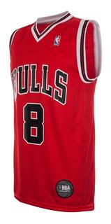 Camiseta Chicago Bulls Basquet Licencia Oficial Nba Basket