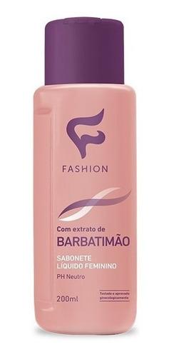 Sabonete Intimo Feminino Barbatimão Fashion 12 Unidades