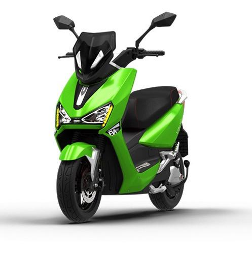 Imagem 1 de 10 de Scooter Moto Elétrica Voltz Ev1 Sport Verde - Uma Bateria