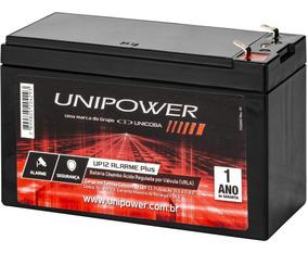 Bateria 12v Unipower Central Alarme E Cerca Elétrica Nobreak