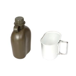 Al Aire Libre Deportes Portátil Agua Botella Camuflaje Plá
