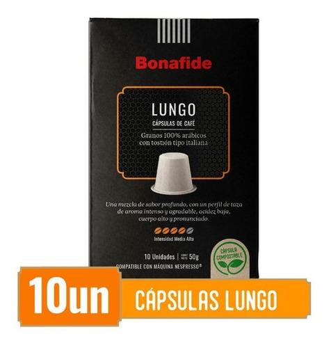 Imagen 1 de 3 de 10 Cápsulas Lungo 100% Compostables - Compatibles Nespresso®