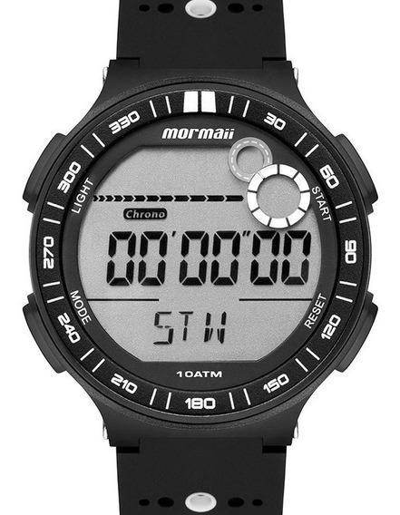 Relógio Mormaii Masculino Esportivo Preto Digital Action