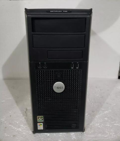 Cpu Dell Otiplex 740 Torre 2gb Hd 160gb