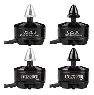 Crazepony 4pcs 2206 2700kv Brushless Motor