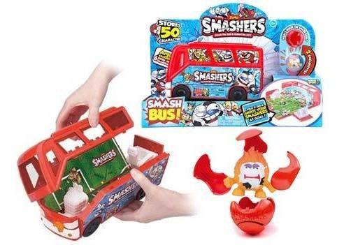 Bus Cancha De Futbol Smashers Con Figuras 7408 Wabro