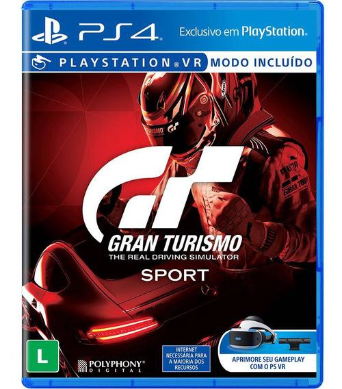 Gran Turismo Sport Ps4 Gt Sport Ps4 Mídia Física