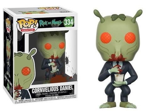 Funko Pop Animation Rick & Morty Cornvelious Daniel #334